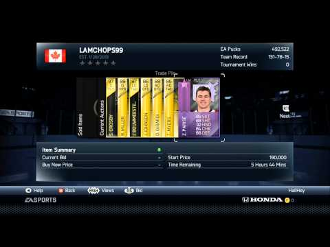 NHL 14 HUT - 6 Hour Trade Day (Ft. Crosby, Gretzky, Toews, and more!)