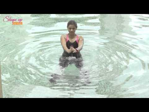 Aqua Aerobics Exercises - Shallow Water Exercises Free DIY Tutorial