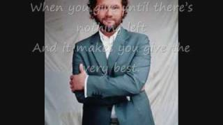 David Phelps That's What Love Is. Whit Lyrics