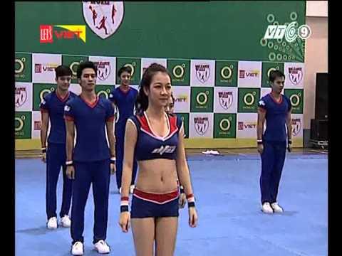 Cheerleading ĐH Duy Tân ĐN 25/11/2012