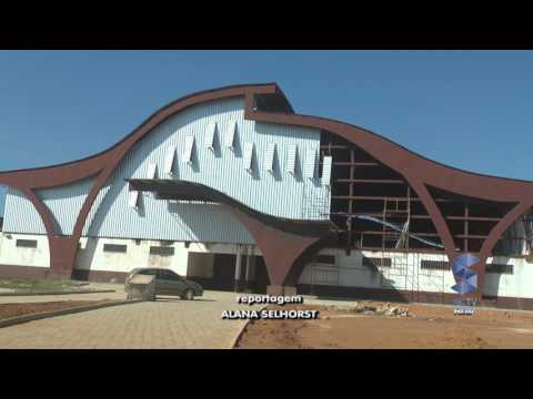 Rolim de Moura - 4° Etapa da Construção do Ginásio de Esportes (reportagem)