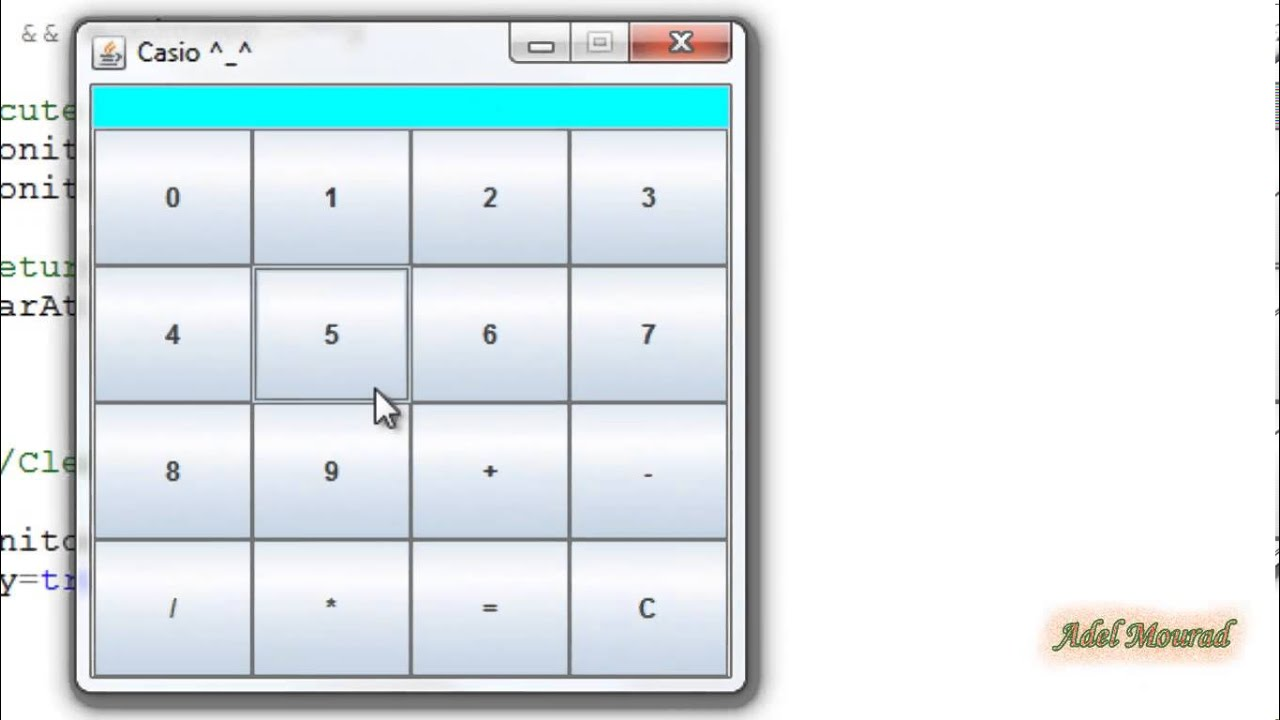 java calculator code example