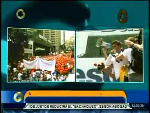 Leopoldo López llegó a Chacaíto