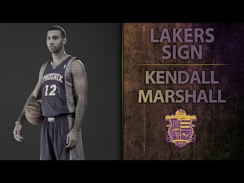 Lakers News: Lakers Sign Point Guard Kendall Marshall