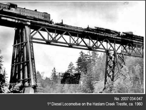 Ladysmith Archives-Logging & Mining Photographs