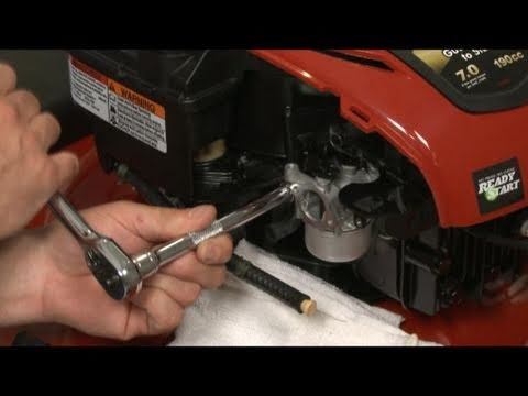 Carburetor Replacement (part #799866) - Briggs and Stratton Small Engine Repair