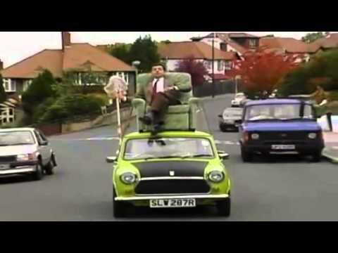 Mr Bean Lai Xe   Xem video hài Mr Bean Lái xe MỚI HAY NHẤT