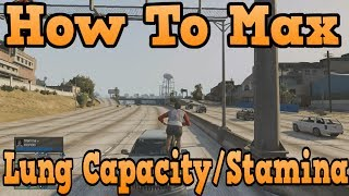 """GTA 5 Online"" How To Max Lung Capacity And Stamina"