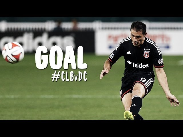 GOAL: Fabian Espindola stuns Crew Stadium against the run of play | Columbus Crew vs. D.C. United