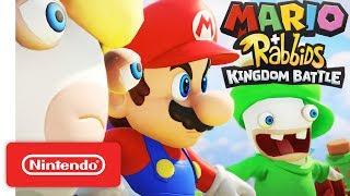 Mario + Rabbids Kingdom Battle - Official Game Trailer - Nintendo E3 2017