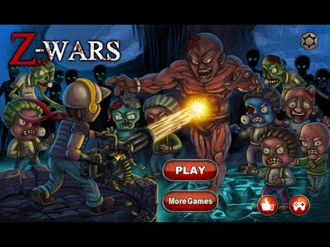 Z-Wars - Zombie War Android GamePlay
