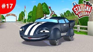 Statočné autíčka - Štepán prichádza do mesta
