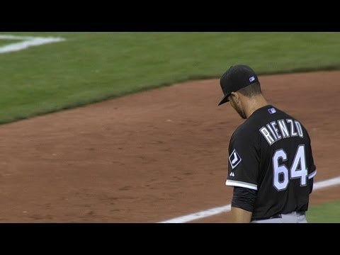 CWS@KC: Rienzo sets career high with eight strikeouts