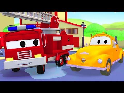 Xe cứu hỏa - Tom chiếc xe tải kéo
