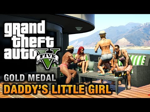 GTA 5 - Mission #7 - Daddy's Little Girl [100% Gold Medal Walkthrough],