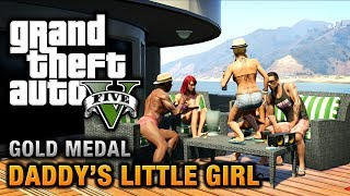 GTA 5 Mission #7 Daddy's Little Girl [100% Gold Medal