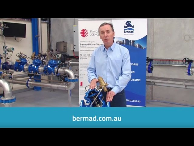 Bermad 700 Series Water Control Valve – Benefits & Accreditations