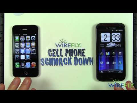 Schmackdown! HTC Rezound vs iPhone 4S