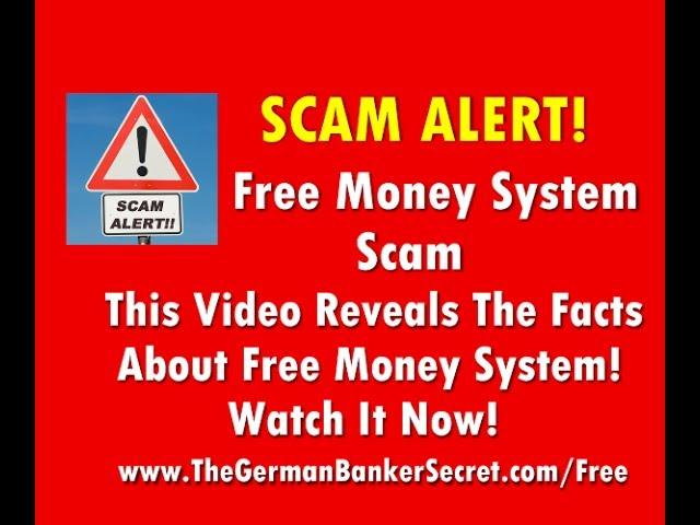 Scam Free Money System