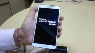 Samsung Galaxy Note 3 Quick Review N900 N905