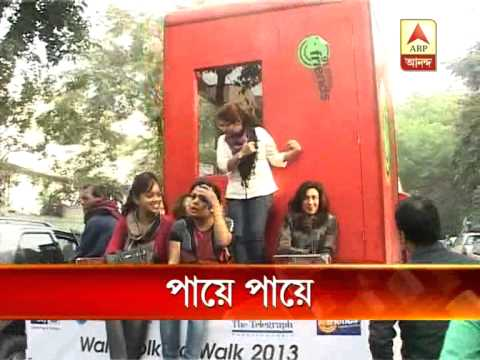 Kolkata walk 2013 to create awareness about  Security for Women