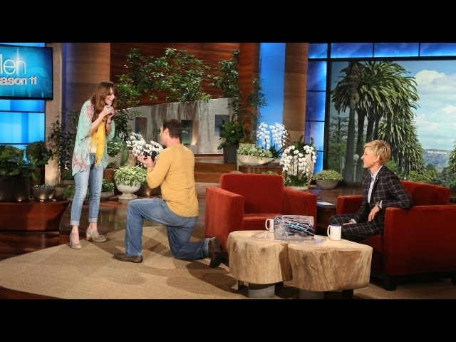 Exclusive! An Ellen Show Proposal