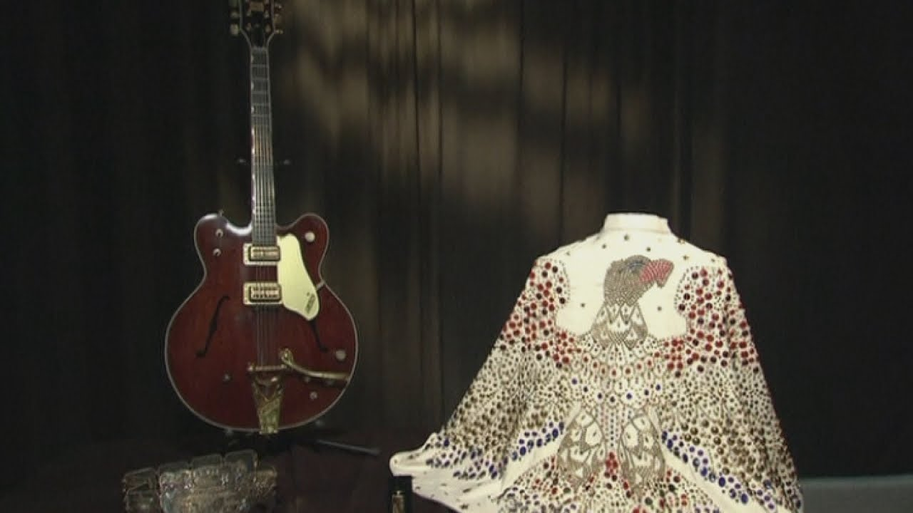 Elvis Presley memorabilia goes on display at new exhibit