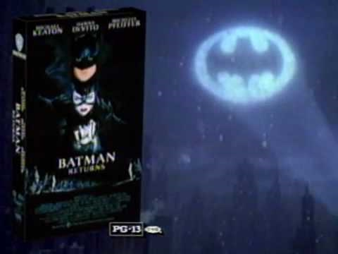 Batman Returns (1992) VHS commercial