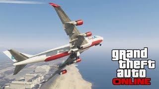 GTA 5 Online: How To Get The 747 JUMBO JET In Free Roam