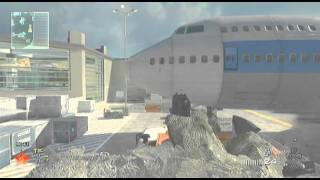 MW2- How To Get Out Of Map At Terminal (No Hack!!)