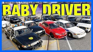 Forza Horizon 3 Online : Baby Driver Opening Scene!!