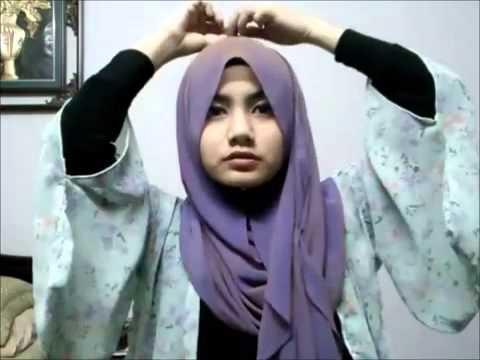 Hijab Magic shawl tutorial by Infigacy