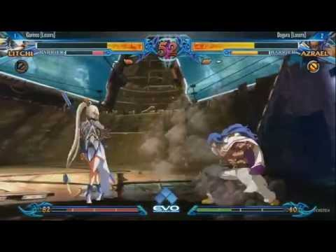 EVO 2014 Grand Finals: Blazblue | Garireo Vs Dogura