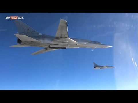 ضربات روسية لداعش في سوريا من الجو والبحر