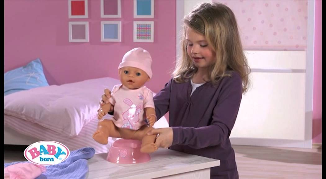 Baby Born 174 Interactive Doll Youtube
