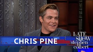 Chris Pine Hits Stephen With Some History