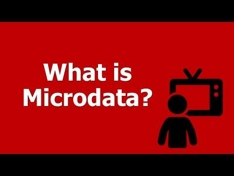 HTML5 Microdata Markup and the SEO Impact: What is Microdata?