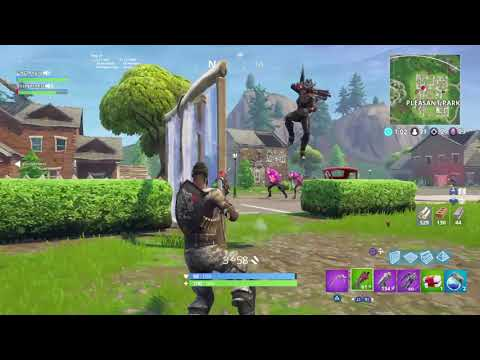 Duo carry LOL FORTNITE GAMEPLAY