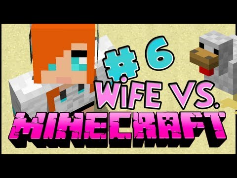 Wife vs. Minecraft - Episode 6: A Dirthouse?!