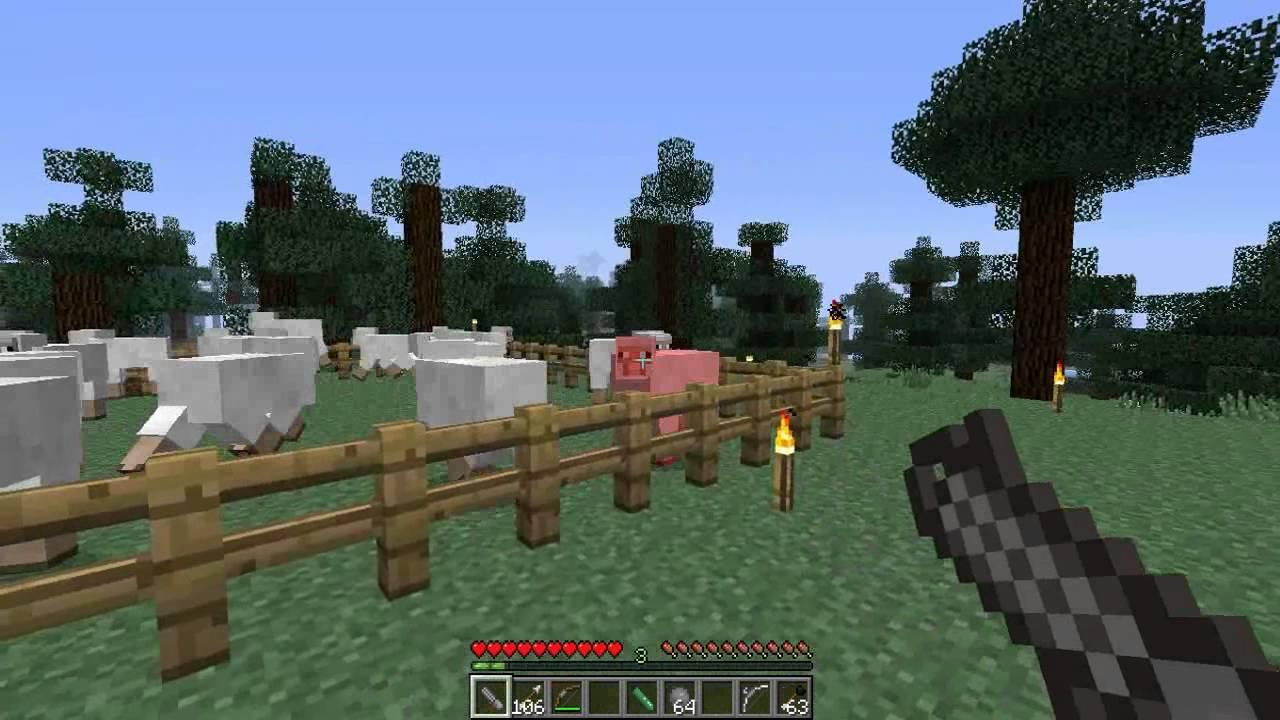 Minecraft Minigun - Bing images