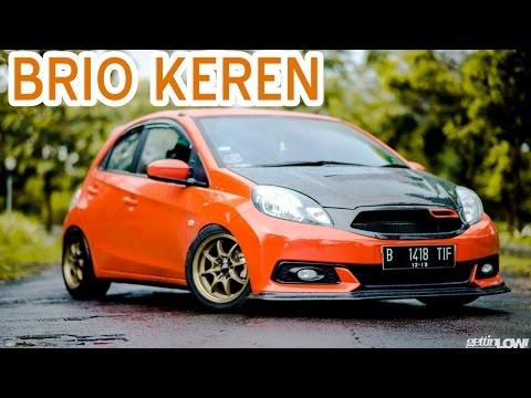 Kumpulan Contoh Modifikasi Mobil Honda Brio Keren