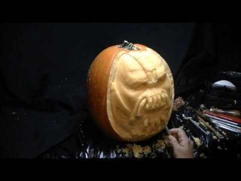 Bane pumpkin stencils