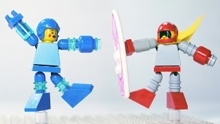 How To Build: LEGO Mega Man & Proto Man