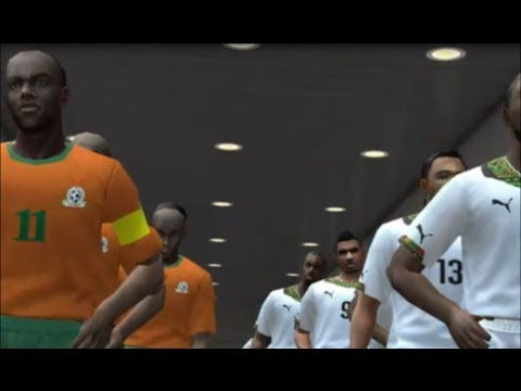 PES6 Greece World Cup 2014 Qualifiers - Ghana vs Zambia