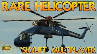 GTA 5 Rare Vehicle Secret Skylift Helicopter In GTA 5