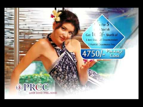 PRCC Beauty Parlour offers ad