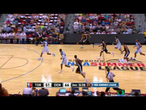 Summer League: Toronto Raptors vs Denver Nuggets
