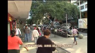 Juros do cheque especial atinge maior patamar desde 1995
