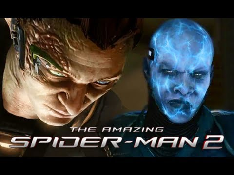 The Villains of The Amazing Spider-Man 2 Game Trailer Review