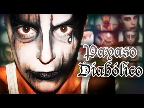 Maquillaje Halloween: Payaso diabólico, efectos especiales | Silvia Quiros